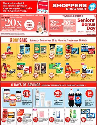 Weekly Flyer | Shoppers Drug Mart