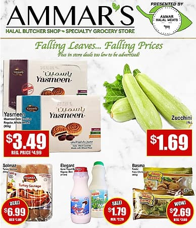 Weekly Flyer | Ammar Halal Meats