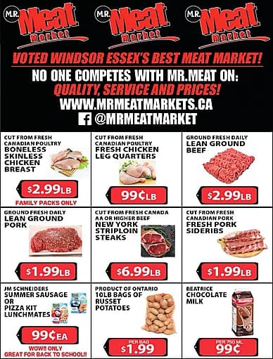 Weekly Flyer | M.R. Meat Market