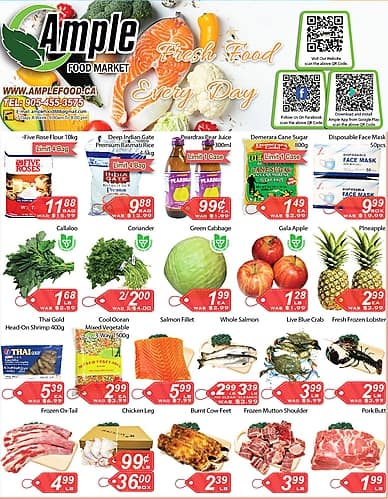 Weekly Flyer | Ample Food Market