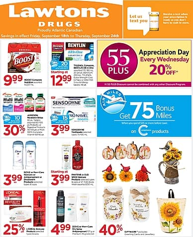 Weekly Flyer | Lawtons Drugs
