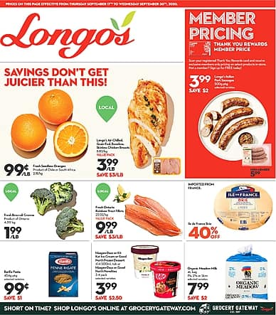 Two-Week Flyer | Longo's