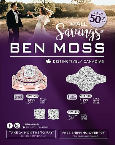 Fall Savings | Ben Moss