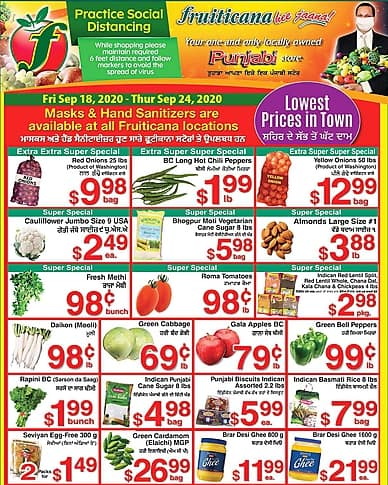 Weekly Flyer | Fruiticana