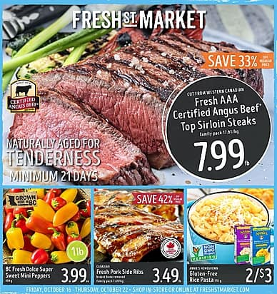 Weekly Flyer | Fresh St. Market