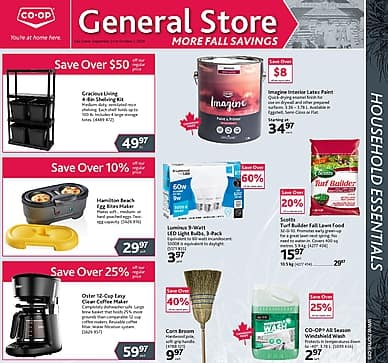 More Fall Savings | Co-op