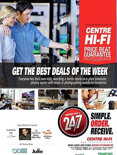Weekly Flyer | Centre Hi-Fi