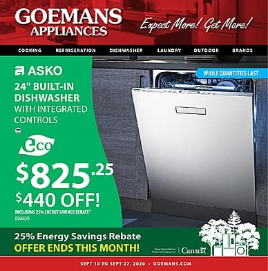 September | Goemans Appliances