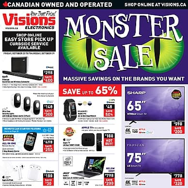Monster Sale | Visions Electronics