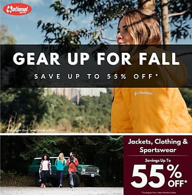Gear Up For Fall | National Sports