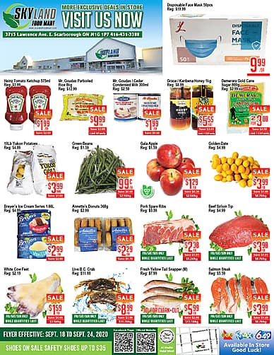 Weekly Flyer | Skyland Food Mart