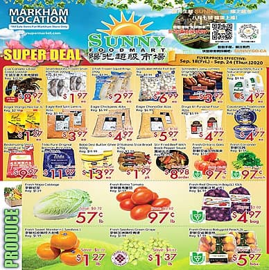 Weekly Flyer | Sunny Supermarket