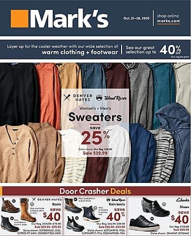 Weekly Flyer | Mark's