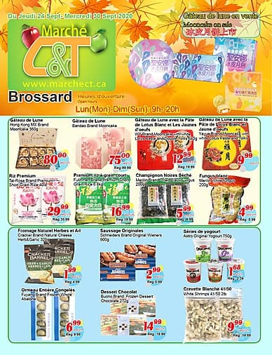 Weekly Flyer   Marché C&T