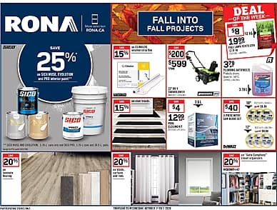 Weekly Flyer | Rona