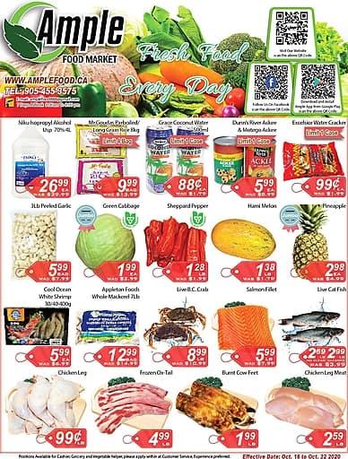 Weekly Flyer | Ample Food Market