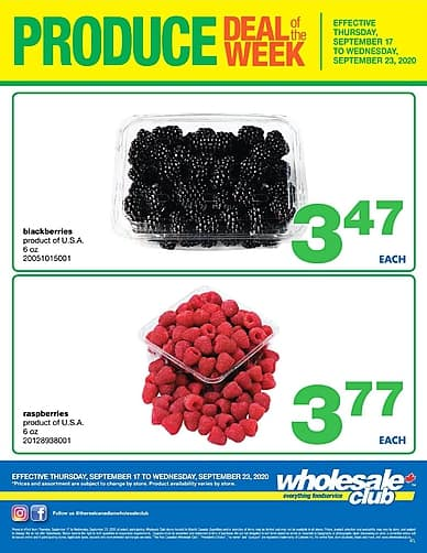 Weekly Flyer   Wholesale Club