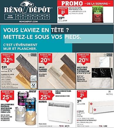 Weekly Flyer | Réno Dépôt