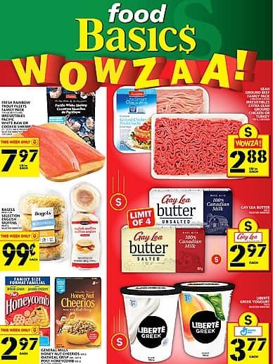 Weekly Flyer | Food Basics