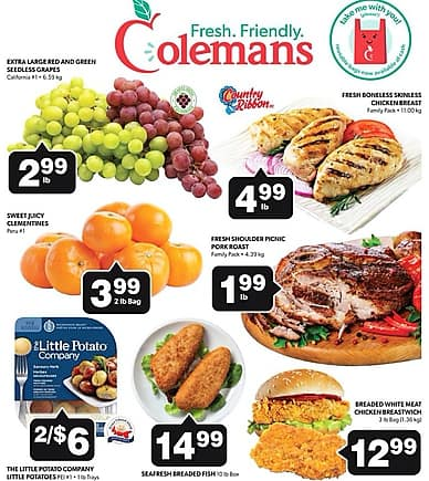 Weekly Flyer | Colemans