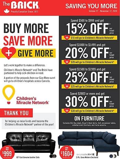 Saving You More | The Brick