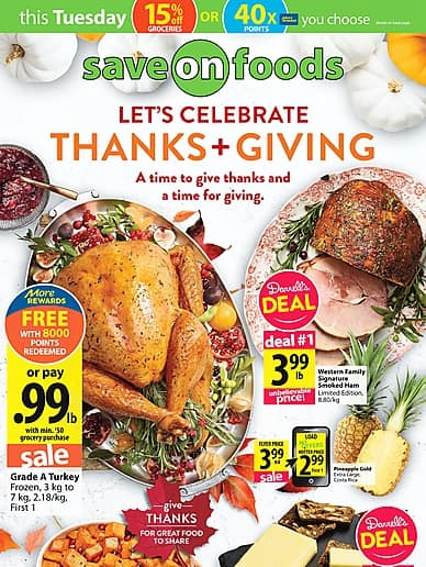 Weekly Flyer | Save-On-Foods