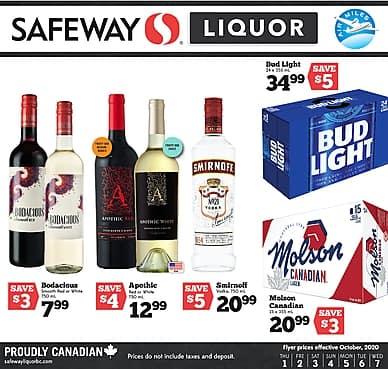 Weekly Flyer | Safeway Liquor