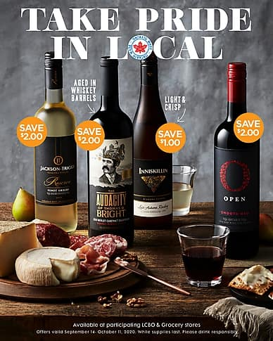 Take Price in Local | Arterra Wines Canada