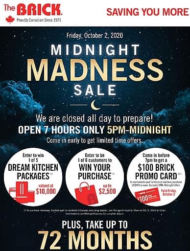 Midnight Madness Sale | The Brick