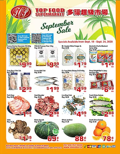 Weekly Flyer | Topfood Supermarket