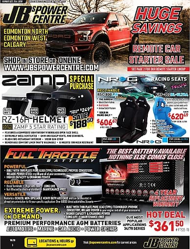 HUGE SAVINGS | JB's Power Centre