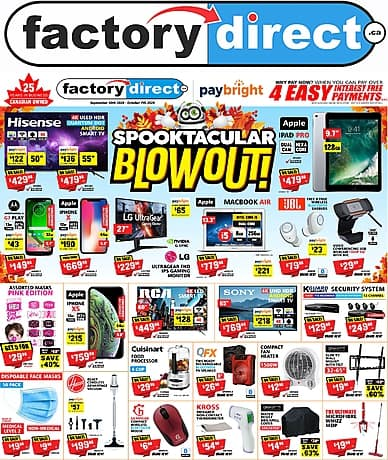 Spooktacular Blowout | Factory Direct