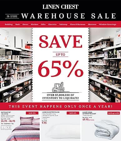Warehouse Sale | Linen Chest
