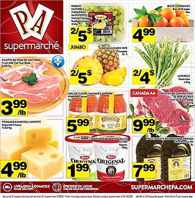 Weekly Flyer | Supermarché PA