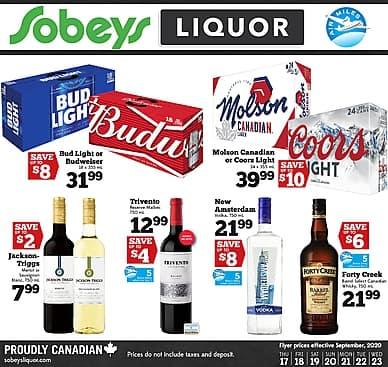 Weekly Flyer | Sobeys Liquor