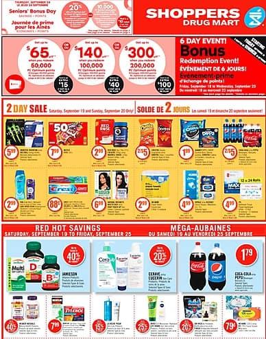 Weekly Flyer   Shoppers Drug Mart