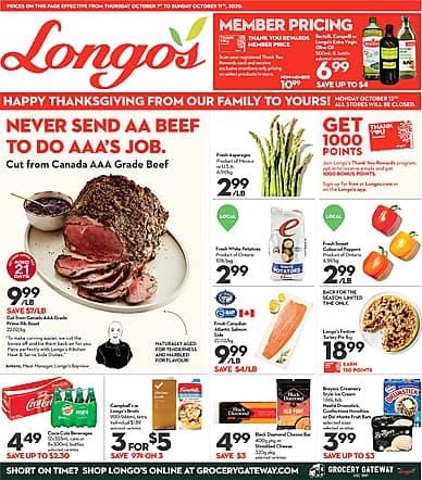 Two-Week Flyer | Longo's
