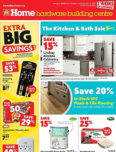 The Kitchen and Bath Sale | Home Hardware Building Centre