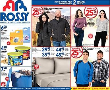 Two-Week Flyer | Rossy