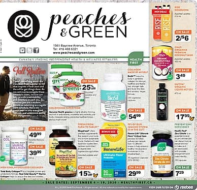 Peaches & Green