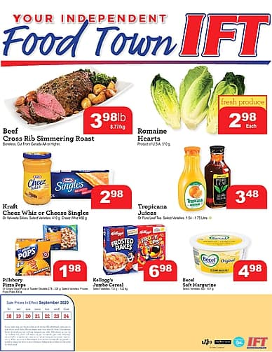 Weekly Flyer | Your Independent Food Town