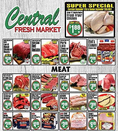 Weekly Flyer | Central Fresh Market