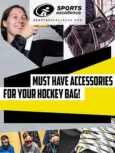 Must Have Accessories For Your Hockey Bag! | Sports Excellence