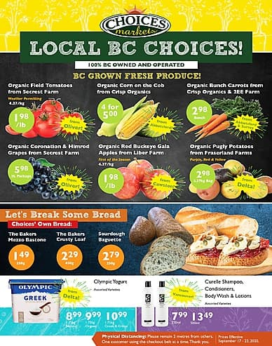 Weekly Flyer | Choices Markets
