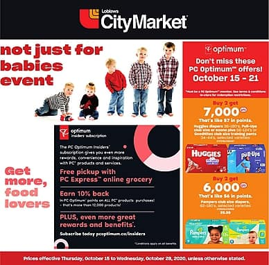 Not just for babies event! | Loblaws City Market