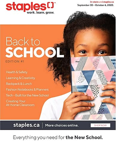 Back to School | edition #1 | Staples
