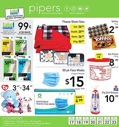 Weekly Flyer | Pipers