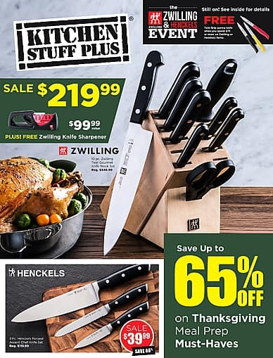 The Zwilling and Henckels Event | Kitchen Stuff Plus