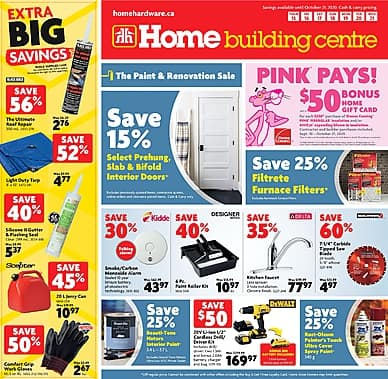 The Paint and Renovation Sale | Home Building Centre
