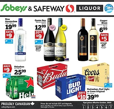 Weekly Flyer | Sobeys/Safeway Liquor